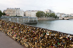 Lock Bridge in Paris Royalty Free Stock Photography