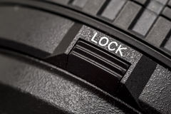 Lock Button Stock Image