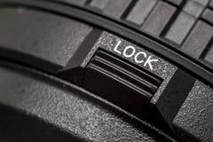 Lock Button stock image