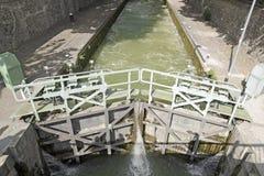 Lock Canal Saint Martin (Paris) Stock Images
