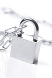 Lock and chain Royalty Free Stock Images