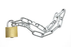 Lock and Chain Stock Photo