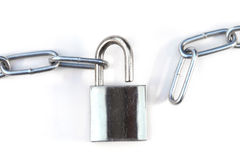 Lock and chain Stock Photography