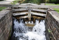 Lock of the Chesapeake and Ohio Canal. Royalty Free Stock Photos
