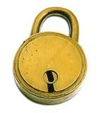 Lock (+clipping Path) Royalty Free Stock Photo