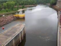 Lock and Dam No. 1 Royalty Free Stock Photo