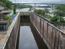 Lock and Dam No. 1 Royalty Free Stock Photography