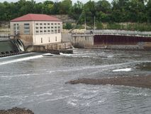 Lock and Dam No. 1 Stock Photography