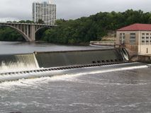 Lock and Dam No. 1 Stock Images