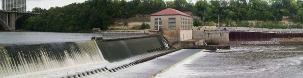 Lock and Dam No. 1 Royalty Free Stock Image