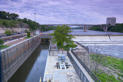 Lock and Dam One at Ford Parkway Stock Photography