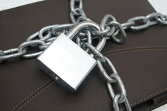 Lock document Royalty Free Stock Photography