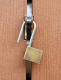 Lock the door Stock Image