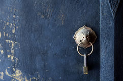 Lock on the door Royalty Free Stock Image