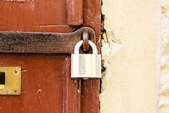 Lock door Royalty Free Stock Photos