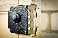 Lock on the door Stock Images