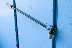 The lock on the door Stock Photography