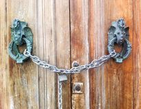 Lock door Royalty Free Stock Images