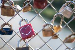 Lock of Eternal Love Stock Photos