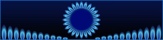Lock för platsförsäljningen av industriella gaser Royaltyfria Bilder