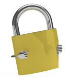 Lock figure Stock Images