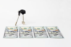 Lock the finance Royalty Free Stock Photography