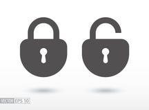 Free Lock - Flat Icon Stock Photos - 83381233