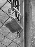 Lock on Gate Royalty Free Stock Image