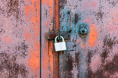The lock on gate Royalty Free Stock Photography