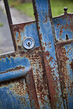 Lock of a gate Royalty Free Stock Photo