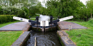 Lock Gate Stock Photo