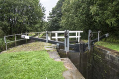 Lock gates Royalty Free Stock Images