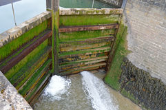 Lock Gates Stock Image