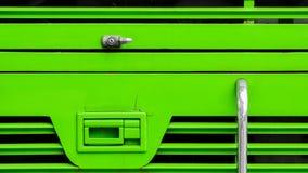Lock at green bus. Detail of lock at green bus Stock Photography
