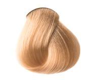 Lock of hair color Stock Photos