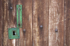 Lock and Handle Royalty Free Stock Photos