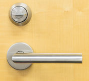 Lock and handle Royalty Free Stock Image