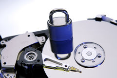 Lock & hard-drive Stock Images