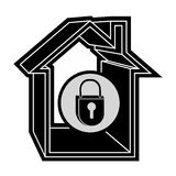 Lock house Royalty Free Stock Photography