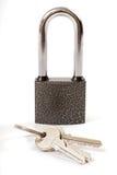 Lock and house key Royalty Free Stock Image