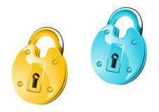 Lock icon Stock Images