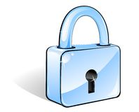 Lock icon Stock Photography