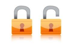 Lock Icon Stock Image