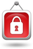 Lock icon Royalty Free Stock Image