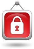 Lock icon Royalty Free Stock Image