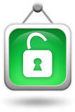 Lock icon Royalty Free Stock Photo