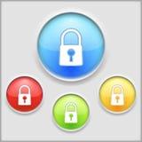 Lock Icon Stock Photography
