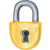 Lock icon. Stylized lock icon or symbol Vector Illustration