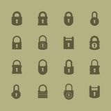 Lock icon Royalty Free Stock Photos