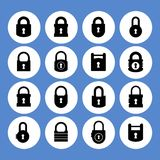 Lock icon Royalty Free Stock Images